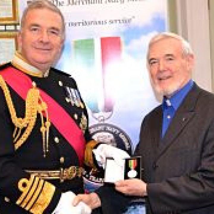 Reverend William McCrea awarded the Merchant...